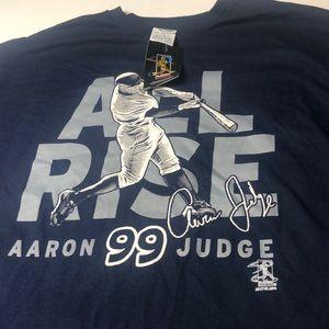 Aaron Judge 2017 NY Yankees T-Shirt New York NWT